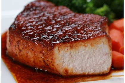 Easy Glazed Pork Chops | Rahasia Masak