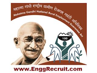 MGNREGA Recruitment 2018