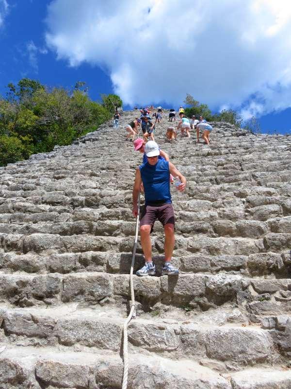 Coba's pyramid