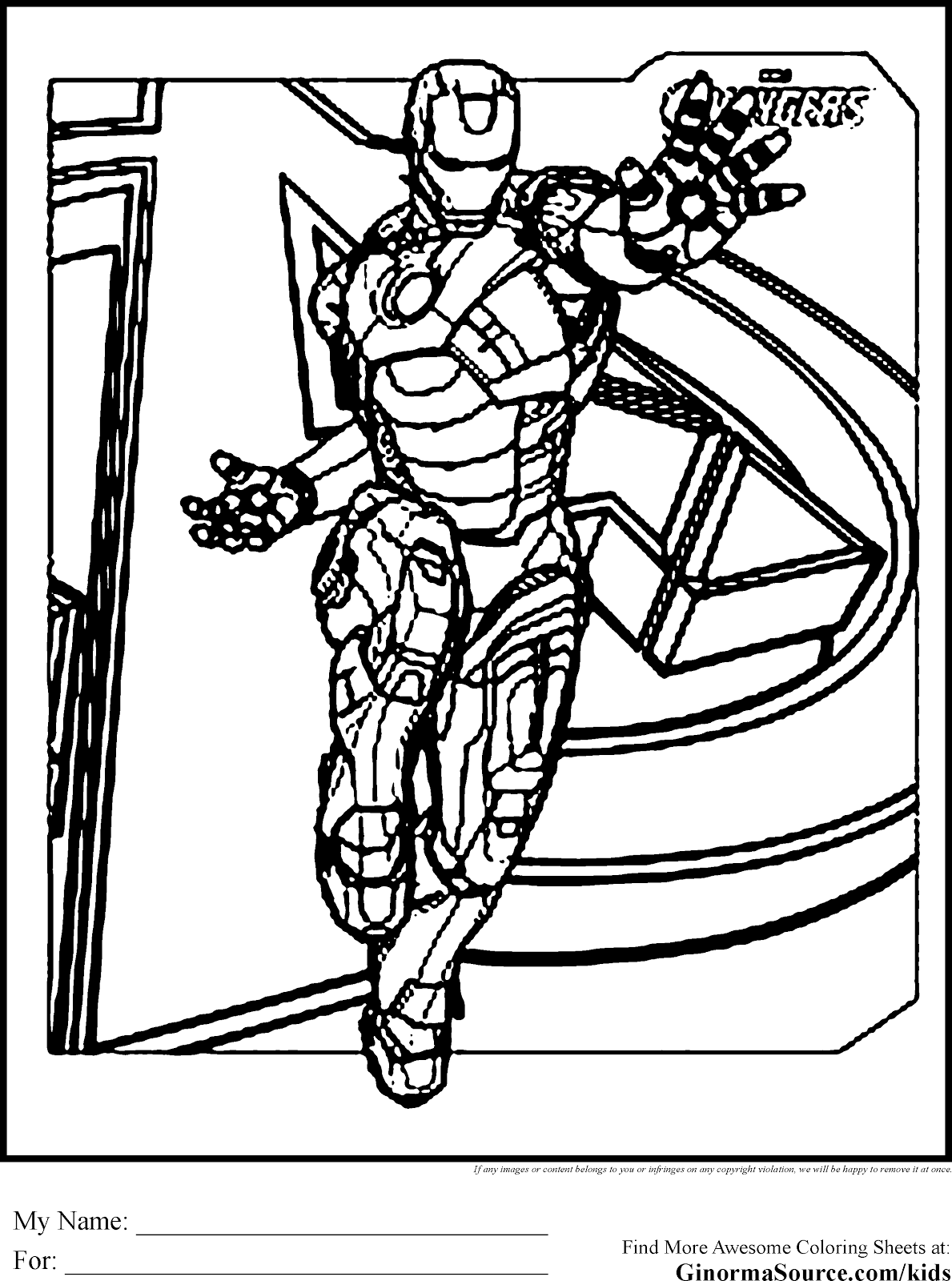 Unique Comics Animation: great avengers coloring pages