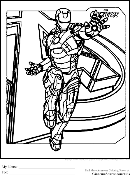Free printable avengers coloring sheets for Avengers coloring pages free