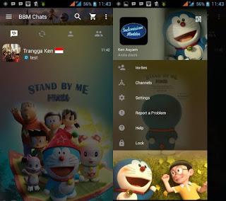 BBM Doraemon 3D V2.12.0.11 Terbaru