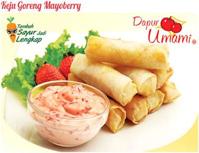 Foto Resep Keju Goreng Mayoberry Kulit Lumpia Dapur Umami Renyah Crispy Sederhana Spesial Saos Mayumi Asli Enak