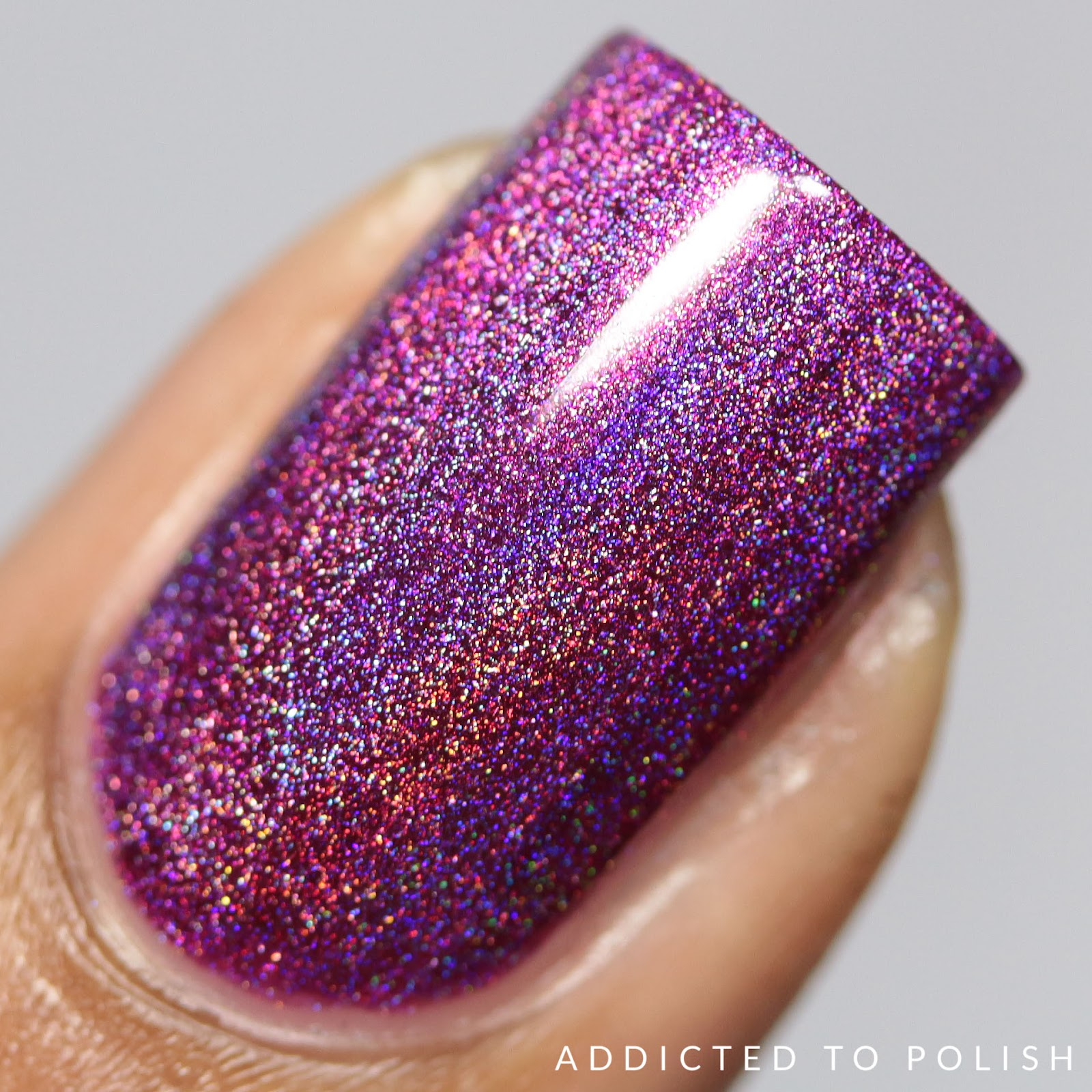 KBShimmer Tall Pink of Water Hella Holo Customs
