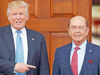 Wilbur Ross is an elf