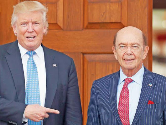 Wilbur Ross and the dopey finance capitalists