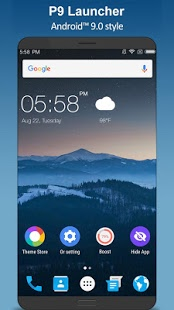 P Launcher for Android™ 9.0 launcher, theme v2.3.1 Apk [Prime]