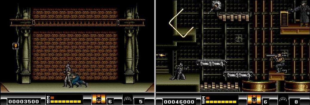 Elxuxo Batman Para Sega Megadrive Genesis