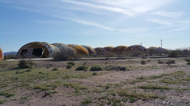Abandoned domes in Casa Grande AZ