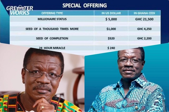 'special offering' from Dr. Mensah Otabil of ICGC's 2017 edition of Greater Works