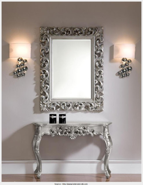Beautiful table with mirror Snapshot