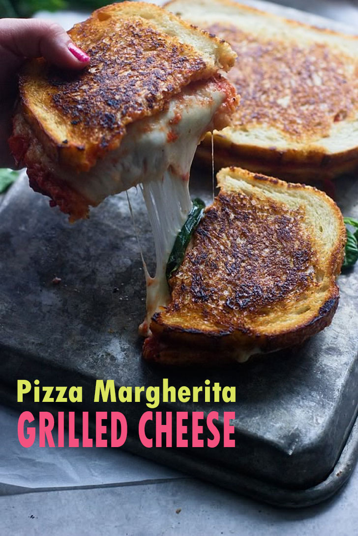 Italian Cuisine - Pizza Grilled Cheese Recipes