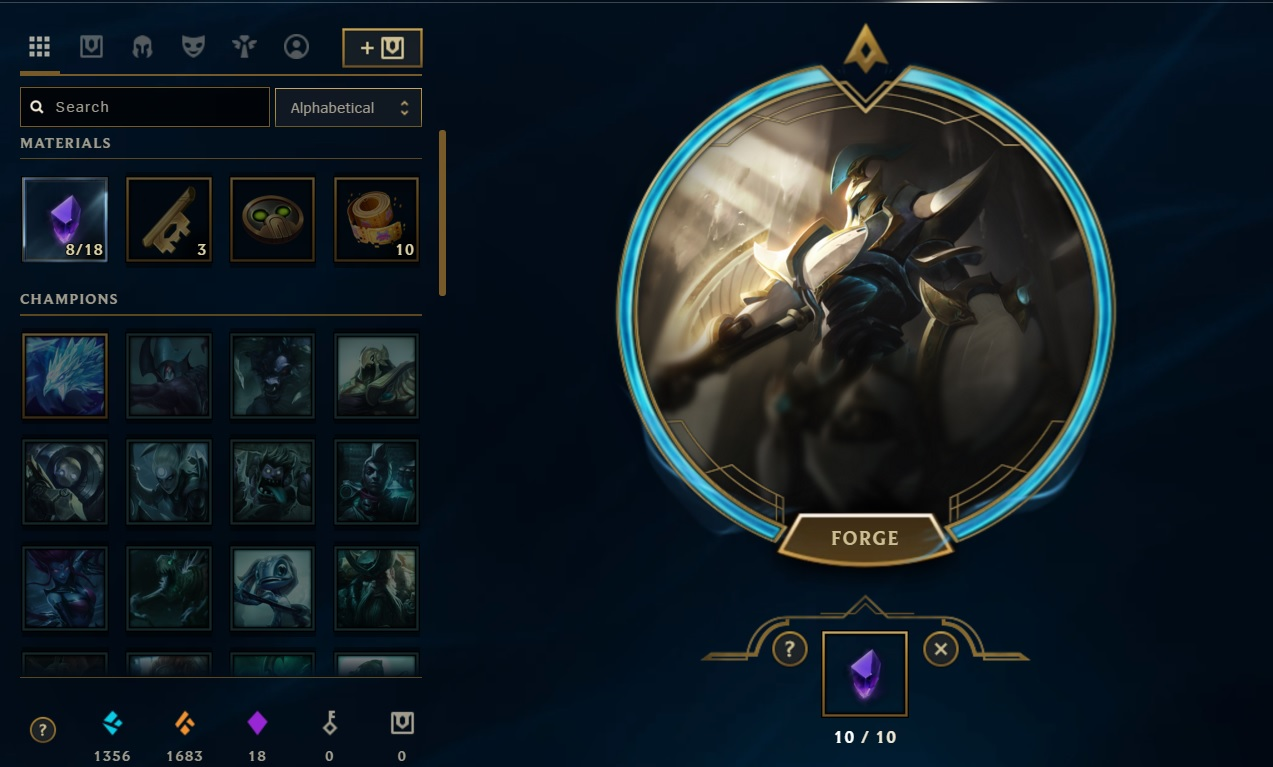 Surrender At 20 Lancer Zero Hecarim Now Available