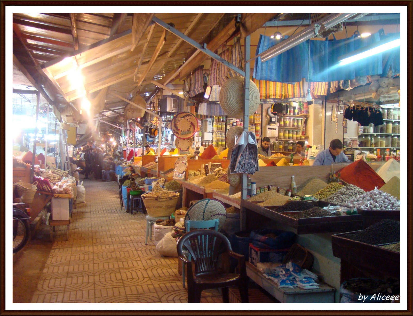 bazar-condimente-Maroc