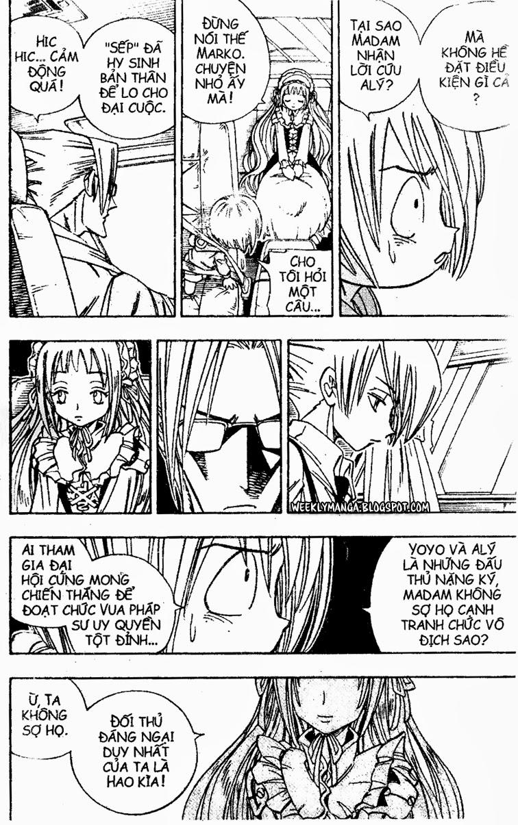 Shaman King [Vua pháp thuật] chap 155 trang 21