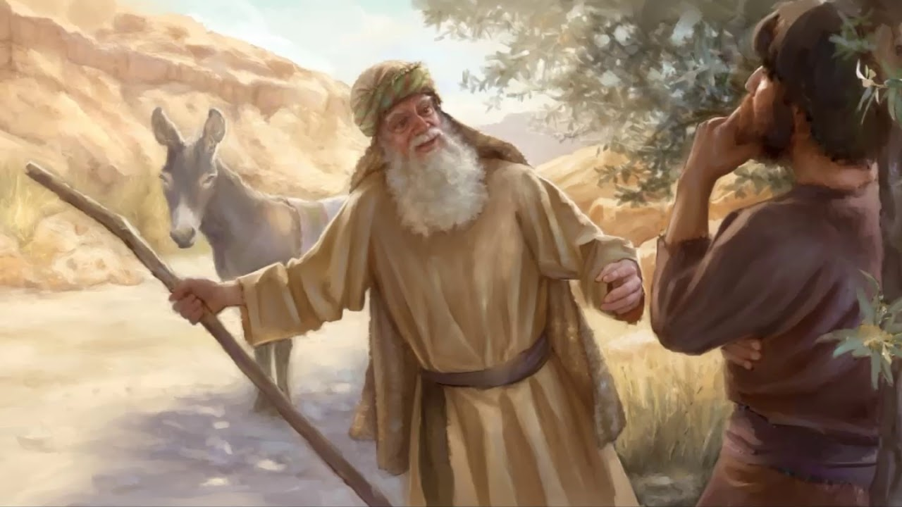 The man of God was deceived by an old prophet in Bethel  (1 Kings 13:18-19).