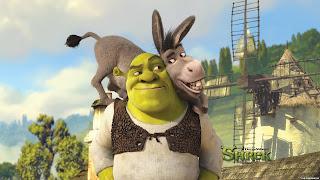 Шрек и Осел - лучшие друзья