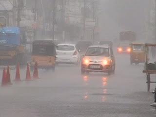 دہلی اور دہرا دون میں زبردست بارش موسم خوشگوار