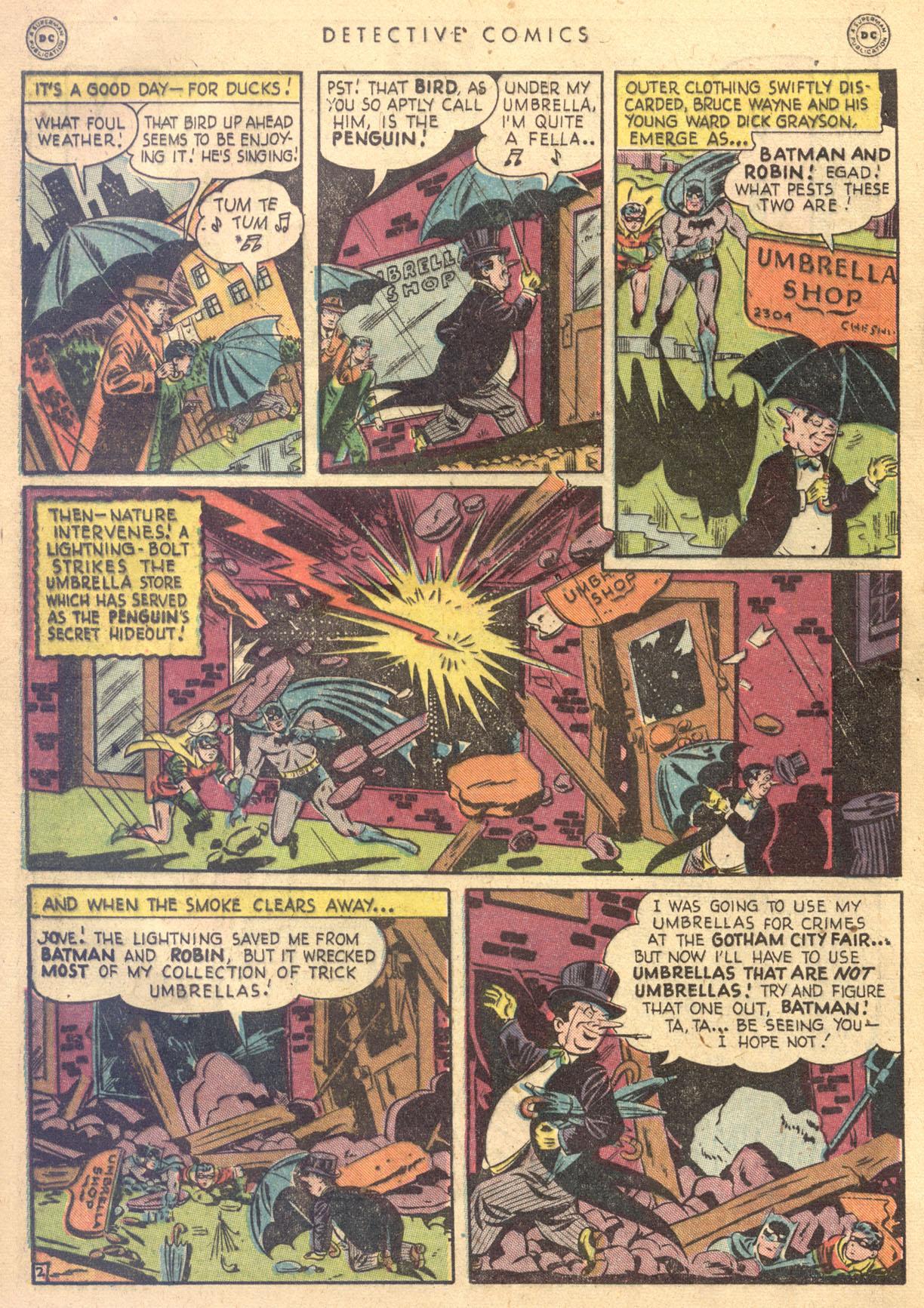 Read online Detective Comics (1937) comic -  Issue #134 - 4