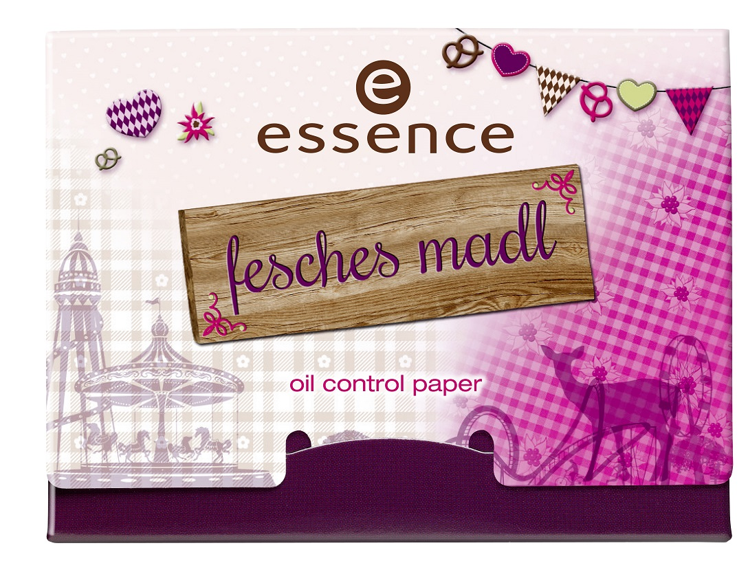 essence oktoberfest – fesches madl oil control paper