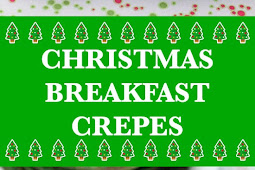 Christmas Breakfast Crepes