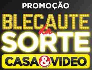 Cadastrar Promoção Casa & Vídeo Blecaute Sorte - Carro Zero KM