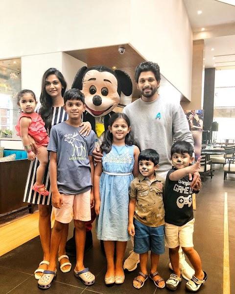 Allu Arjun Latest Family Photos
