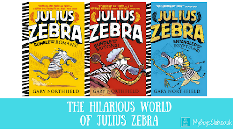 The Hilarious World of Julius Zebra with Gary Northfield (REVIEW)