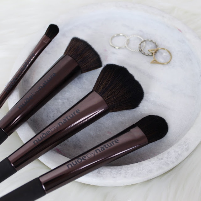 makeup brushes, new beauty, makeup, anastasia beverly hills, nude by nature, covergirl, rimmel, rimmel kate, dermalogica