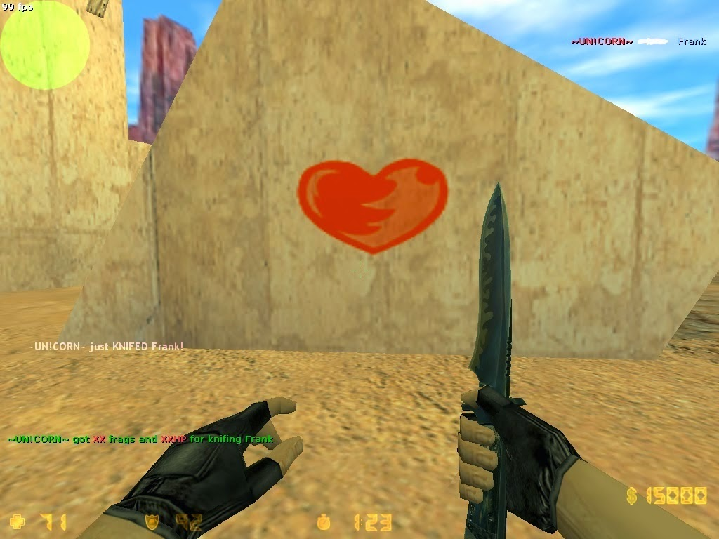 Counter-Strike 1.6 Knife It Up v2.0 Plugin