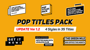 Titles Pack - 11