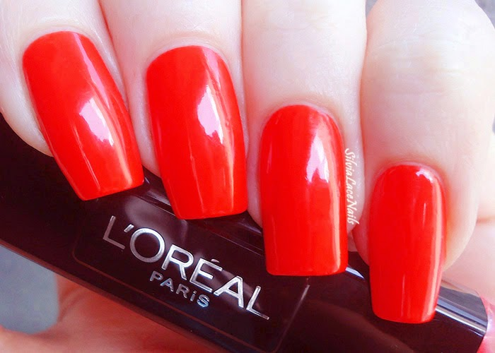 L'Oréal Infallible Gel Duo Orange Extrème: swatches and review
