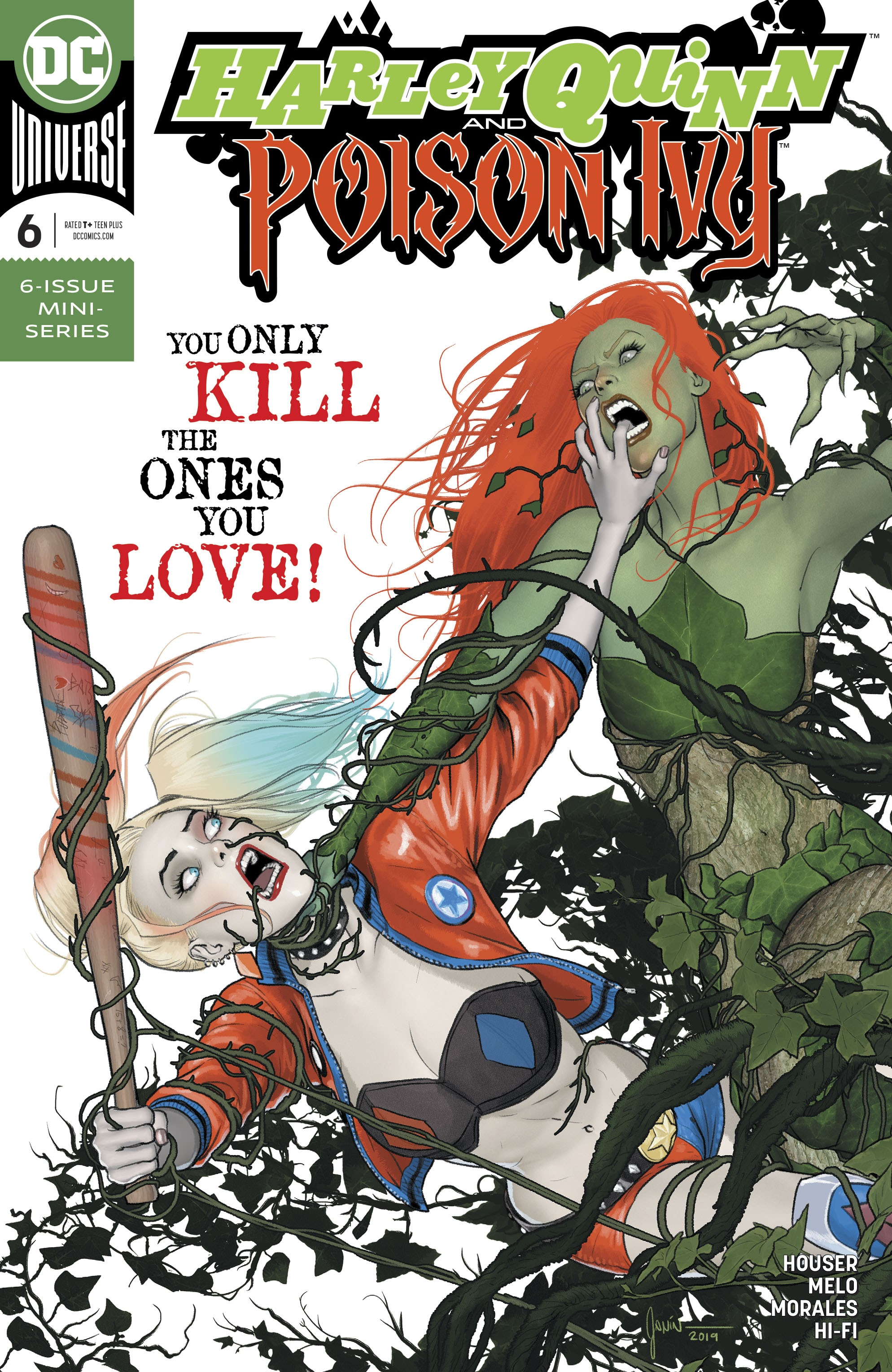 Harley Quinn & Poison Ivy 6 Page 1
