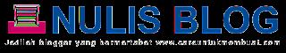 Contoh Logo Nulis Blog