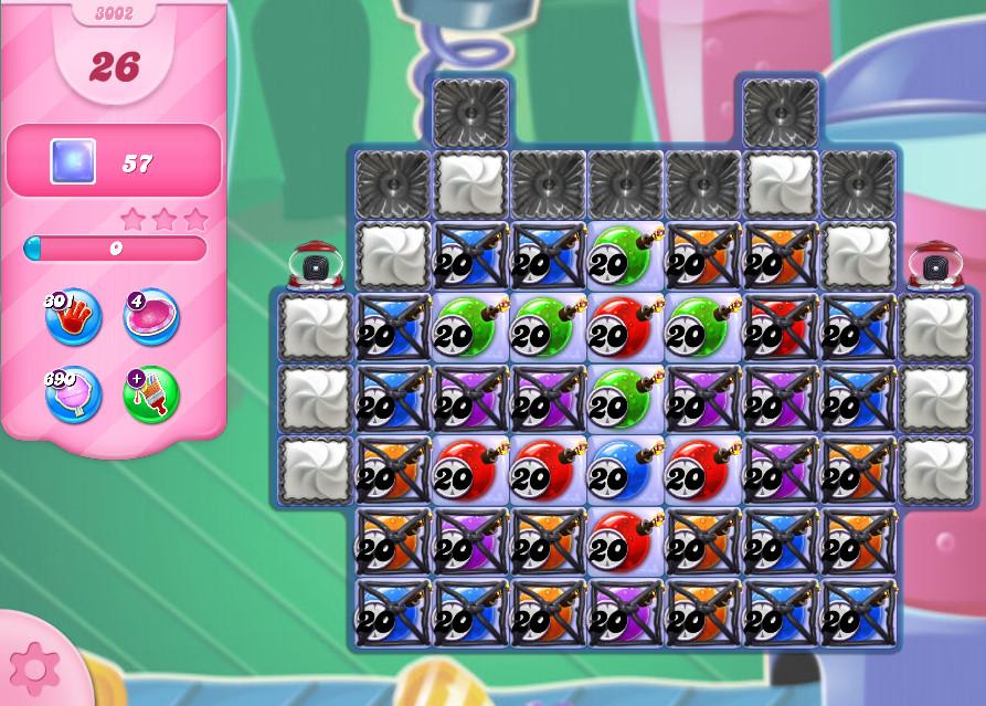 Candy Crush Saga level 3002