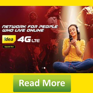 Free Idea 4G 1GB Data Offer