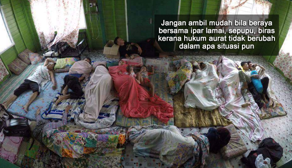 """""""Usah Peduli Sindiran 'Balik Kampung Tapi Tidur Homestay, Hotel', Aurat Isteri dan Anak Dara Kita Lebih Utama"""""""
