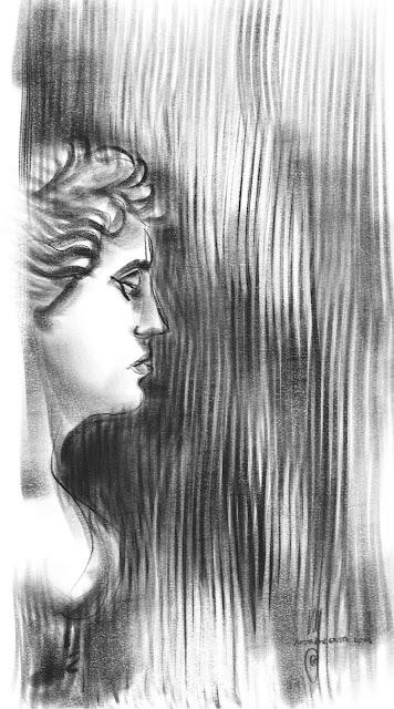 Glyptoteket Cph Sketch by Artmagenta