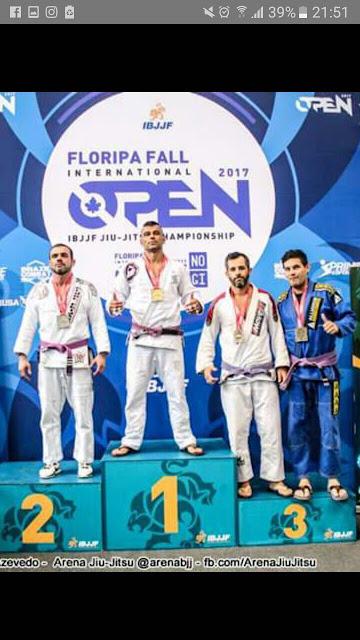 Equipe Alliance Registro-SP Jiu-Jitsu conquista medalhas no Floripa Open Internacional 2017(CBJJ/ IBJJF)