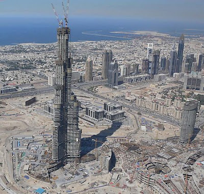 All World Visits Burj Dubai Tower Opening