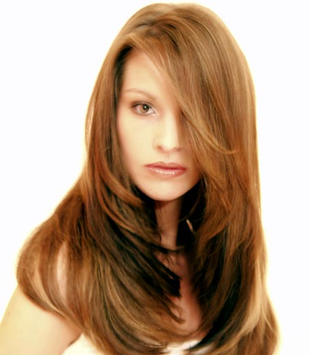 Fotos de cortes de cabello largo degrafilado