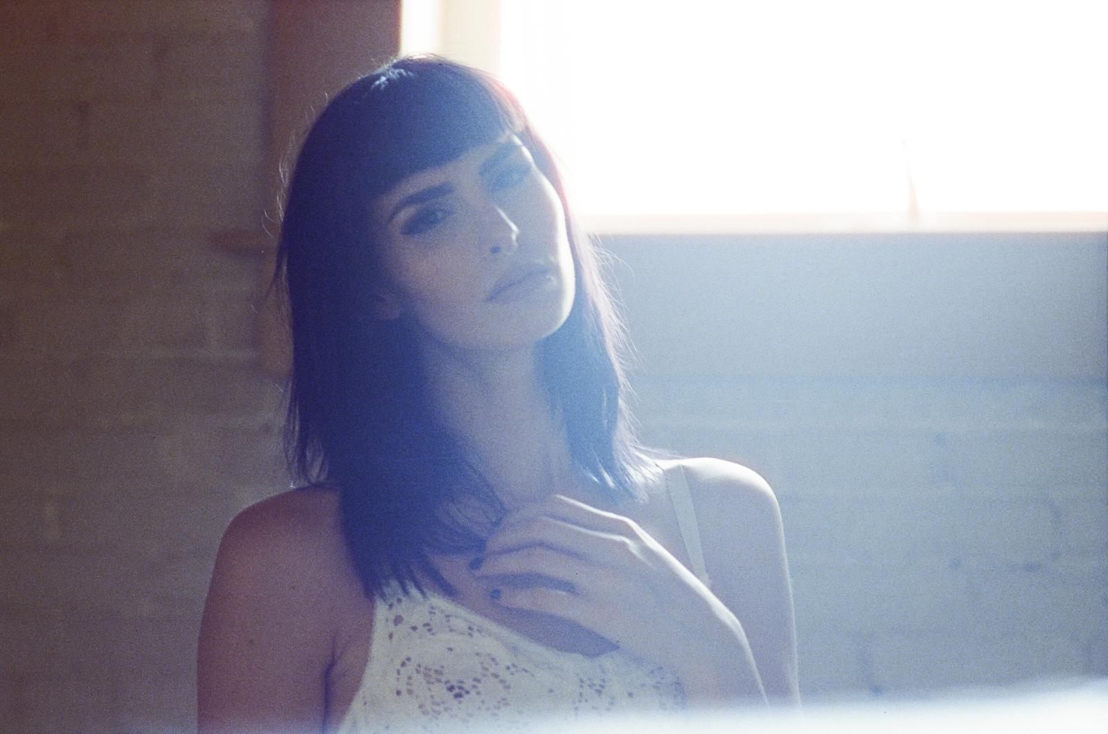 Jillian xenia photography cinestill 800 35mm film