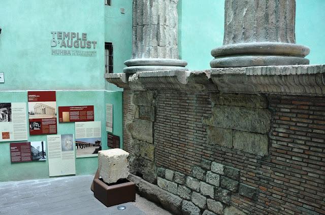 MUHBLA Templo de Augusto