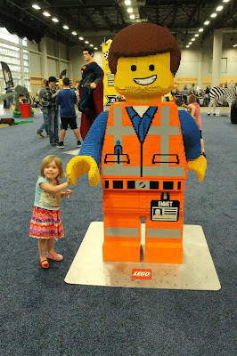 Quick Tips for the Des Moines LEGO Creativity Tour - Emmet from The LEGO Movie in the Model Museum