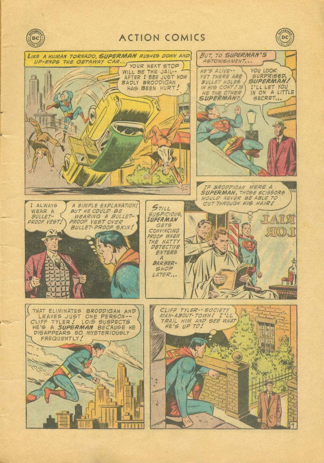 Read online Action Comics (1938) comic -  Issue #216 - 10