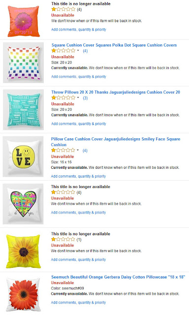 my stolen products from my Zazzle shops of JaguarJulieFlo​wers and JaguarJulieDes​igns