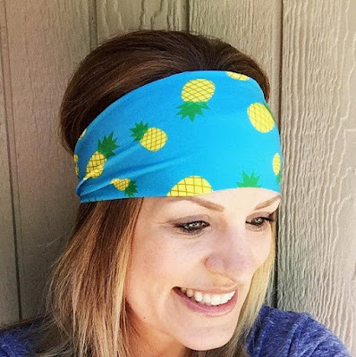 Pineapple Workout Headband