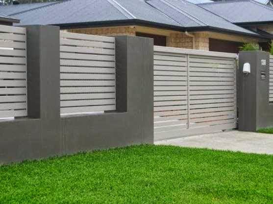 Desain Pagar Rumah Sederhana Tapi Elegan