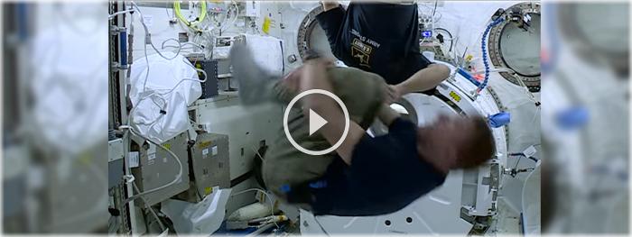 girando no espaço