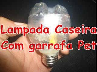 Lampada de LED Caseira